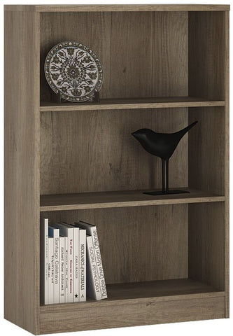 4 You Canyon Grey Bookcase - Medium Wide