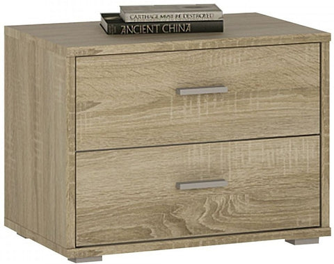 4 You Sonama Oak Bedside Cabinet