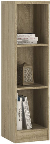 4 You Sonama Oak Bookcase - Medium Narrow