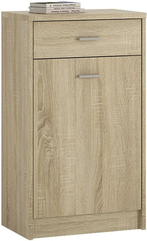 4 You Sonama Oak Cupboard - 1 Door 1 Drawer