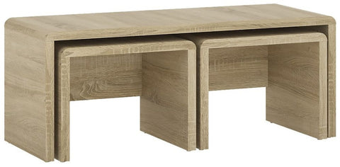 4 You Sonama Oak Nest of Tables