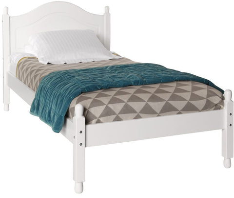 Copenhagen White Bed - 3ft Single