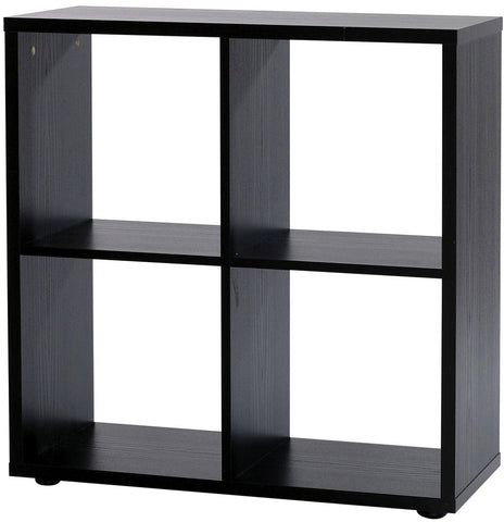 Designa Black Ash Room Divider - 4 Section