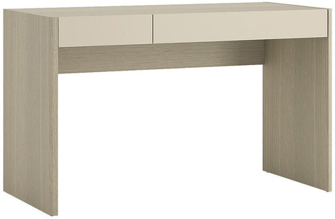 Holiday Light Oak Plover Cream Melamine Desk