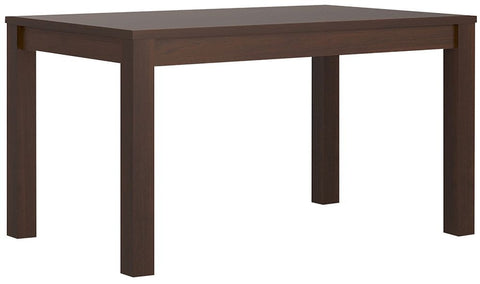 Imperial Dark Mahogany Melamine Dining Table - Extending
