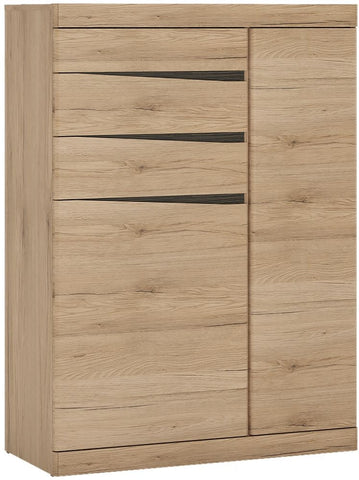 Kensington Oak Cabinet - 2 Door 3 Drawer