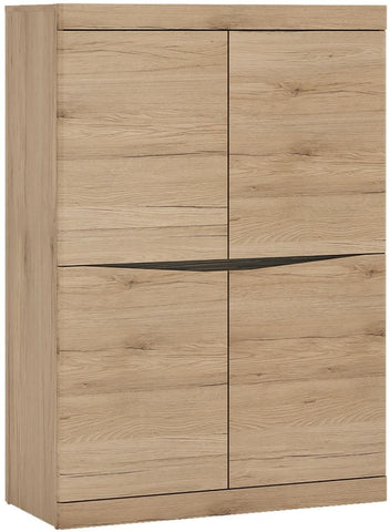 Kensington Oak Cabinet - 4 Door