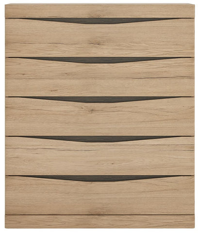 Kensington Oak Chest of Drawer - 5 Drawer