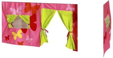 Kids World Pink Print Tent