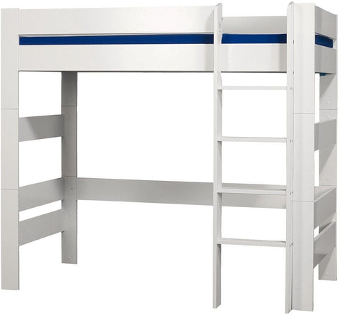 Kids World White High Sleeper Bed