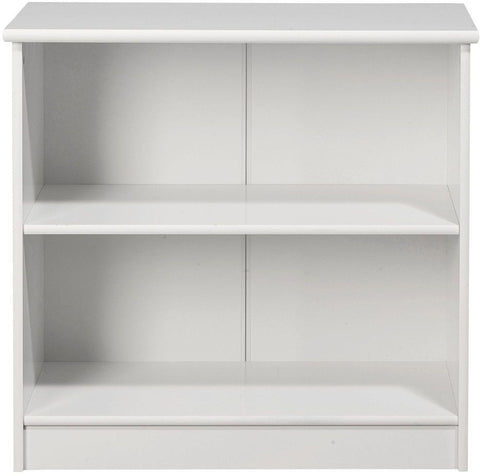 Kids World White Low Bookcase