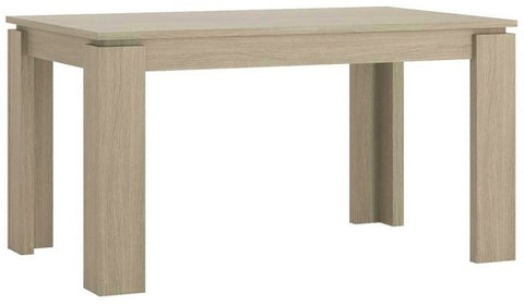 Madras Champagne Melamine Dining Table - Extending