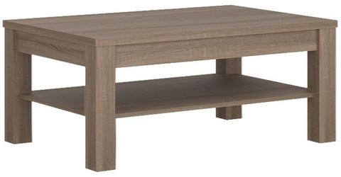 Park Lane Oak and Champagne Coffee Table