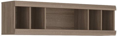 Park Lane Oak and Champagne Wall Unit