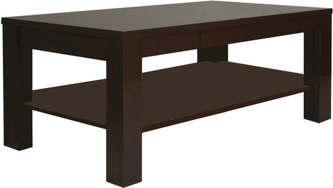 Pello Dark Mahogany Coffee Table - Large