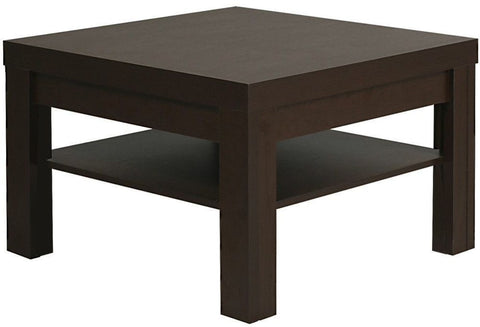 Pello Dark Mahogany Coffee Table - Small