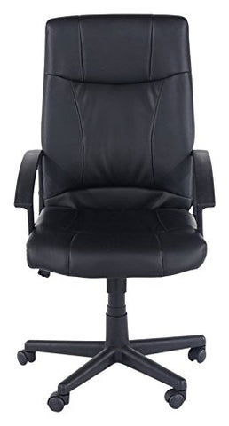 Core Products Viscount Office Chair PU Black Faux Leather