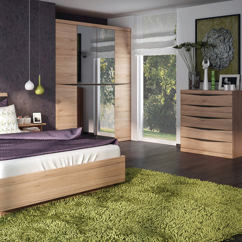 Kensington Oak Bedroom Set