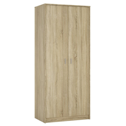 4 You 2 door wardrobe in Sonama Oak