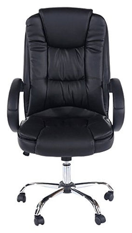 Core Products King Office Chair PU Black Faux Leather