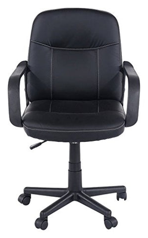 Core Products Earl Office Chair PU Black Faux Leather