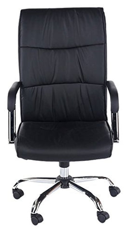 Core Products Duke Office Chair PU Black Faux Leather