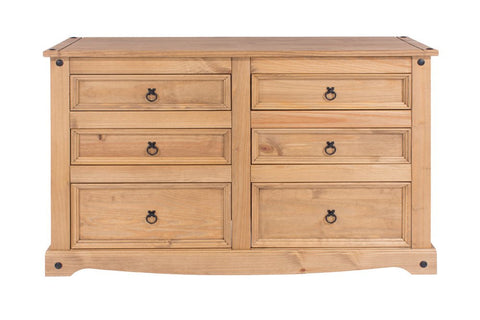 Core Products 6 Drawer Wide Chest