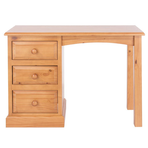 Core Products Single Pedestal Dressing Table