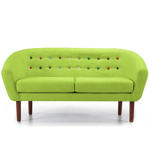Anthea 3 Seater Sofa in Lime