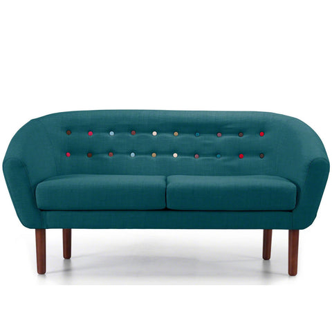 Anthea 3 Seater Sofa in Teal