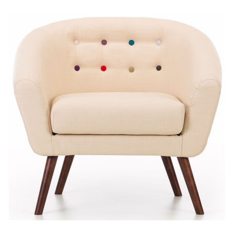 Anthea Armchair in Cream