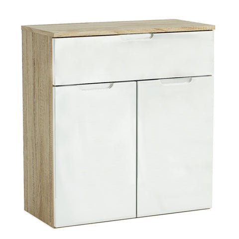 Clio 2 Door 1 Drawer High Gloss Sideboard