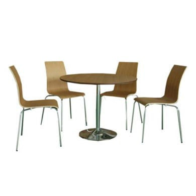 LPD Soho Oak Round Dining Set