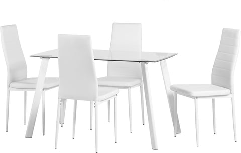 Seconique Abbey Dining Set In Ivory