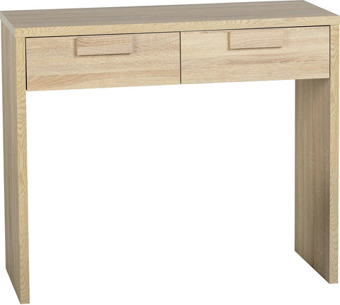 Seconique Cambourne 2 Drawer Dressing Table - Sonoma Oak Effect Veneer