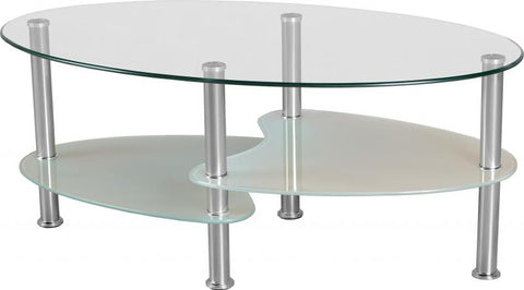 Seconique Cara Glass Coffee Table