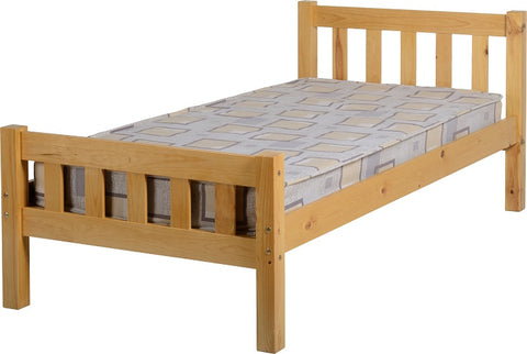 Seconique Carlow 3' Bed - Antique Pine