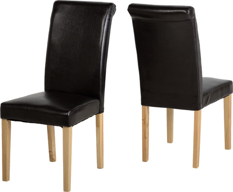 Seconique Dunoon Chair in Expresso