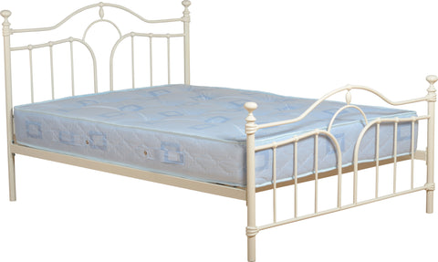 Seconique Keswick Kingsize Bed Frame in Cream