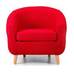 Turin Red Tub Chair
