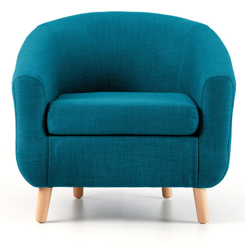 Turin Tub Chair in Teal