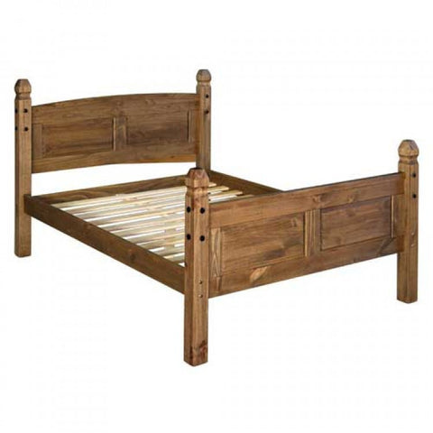 Core Products 5ft Double High End Bedstead - curved top
