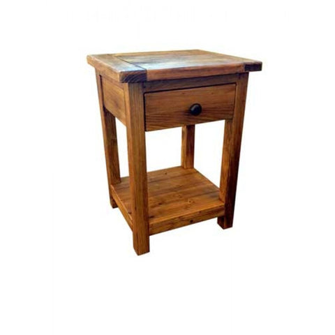 Core Products Denver Bedroom 1 Drawer Bedside Cabinet or Lamp Table