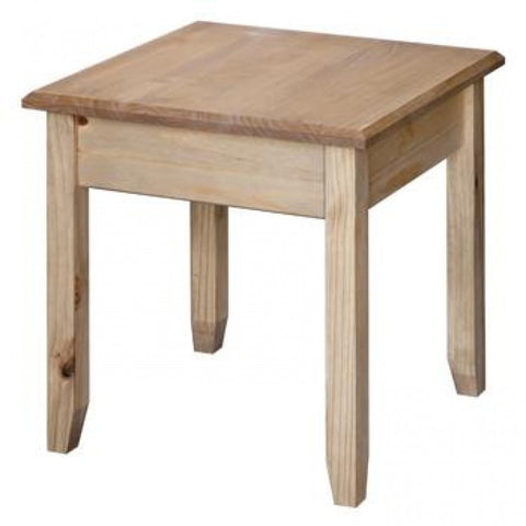Core Products Hacienda Mexican Pine style Lamp Table