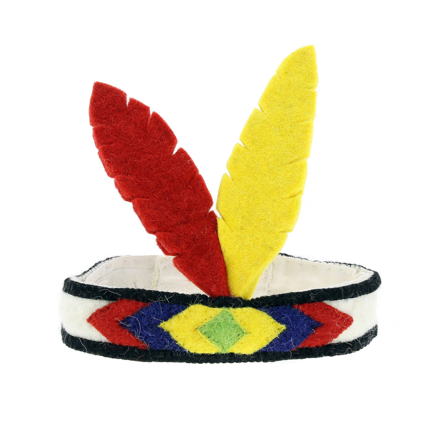 Felt Feather Red and Yellow Squaw Headdress – Sloan & Saul