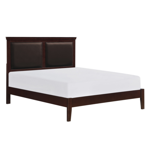 Seabright Full Size Bed in Cherry