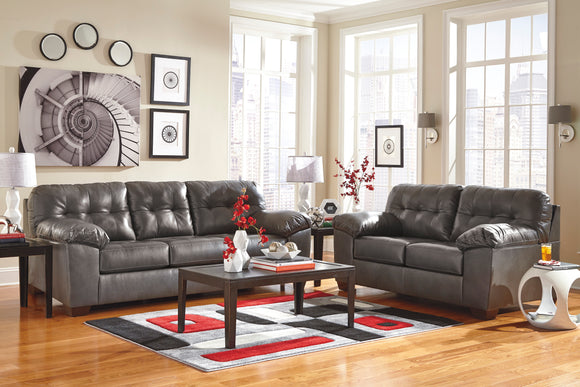 Alliston DuraBlend Sofa & Love in Gray