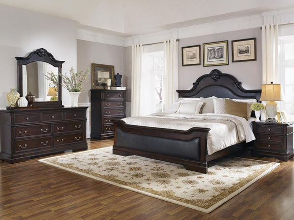 Cambridge Upholstered King Bed