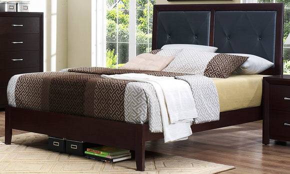 Edina Expresso Bed