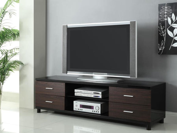 Glossy Black TV Stand